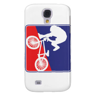 BMX Rider - Red White and Blue Samsung Galaxy S4 Cover