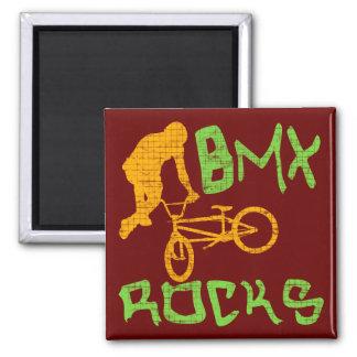 BMX Rocks Refrigerator Magnets