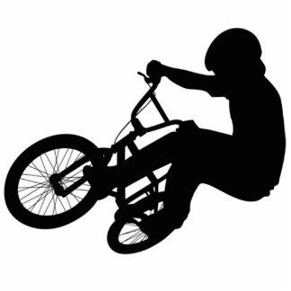 BMX Sculture Photo Cut Out