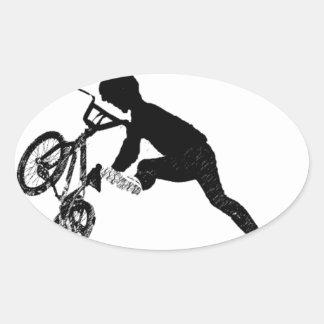 BMX Sports Bike City Team Dirt Track Park Dad Boy Sticker