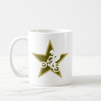 BMX Star Classic White Coffee Mug