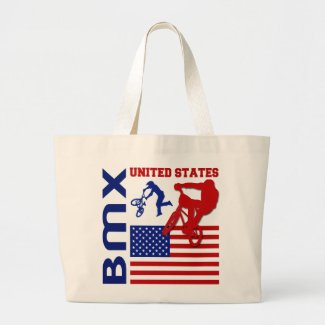 BMX United States Canvas Bags