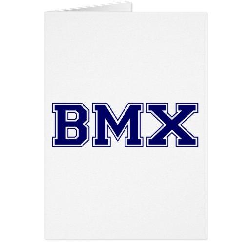 BMX University Style Greeting Cards