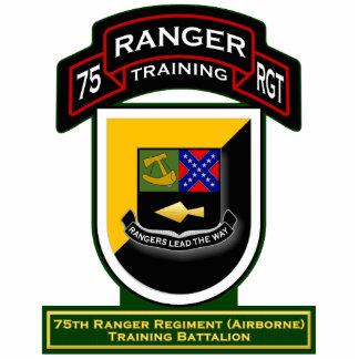 Bn del entrenamiento, 75.o regimiento de guardabos fotoescultura vertical