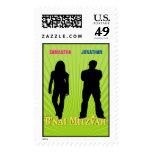 B'nai  Mitzvah Movie Star Stamp