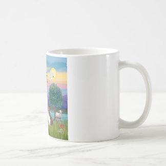 Bndr-StFrancis-Sheltie-Leah-nocat Coffee Mug