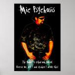 Bnice / Mic Psychosis Poster