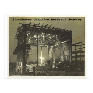 bnlreactor3, Brookhaven Graphite Research Reactor Postcard