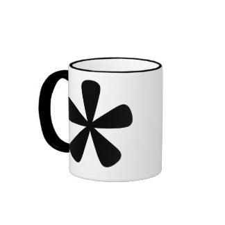 BnW Athterisk Coffee Mug