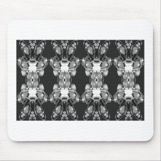 BNW B&W Black white Imitation Jewel GIFTS HAPPY 99 Mouse Pad