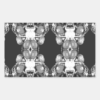 BNW B&W Black white Imitation Jewel GIFTS HAPPY 99 Sticker