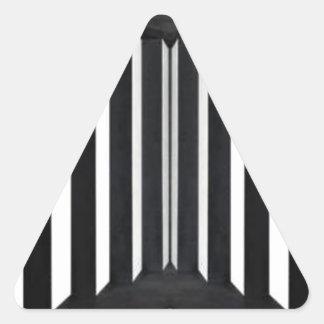 BNW B&W BlackNwhite Light Panels Triangle Sticker