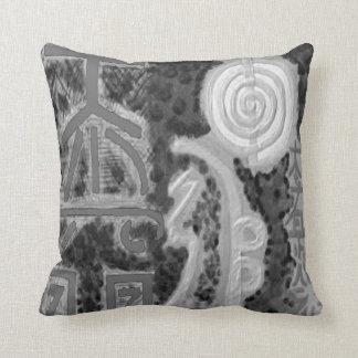 BNW ReikiHealingArt  Karuna Reiki Throw Pillow