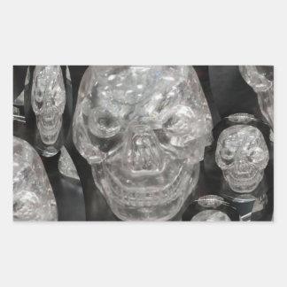 BNW Skull Master Scull Guru Rectangle Sticker