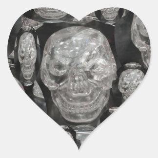 BNW Skull Master Scull Guru Heart Stickers