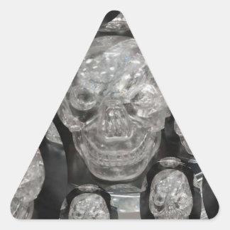 BNW Skull Master Scull Guru Triangle Sticker