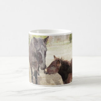 Bo and Brenna Horse and Mule on Classic Mug