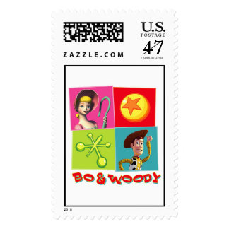 Bo and Woody Disney Postage