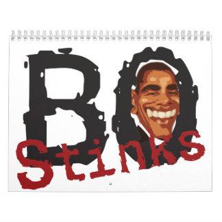 BO apesta el calendario 2012 de Barack Obama