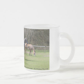 """Bo Cabbie Princess in field, """"There is somethin... Mug"""
