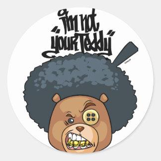 Bo Grillz Classic Round Sticker
