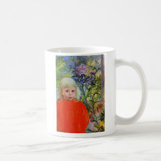 Bo in Pink Peonies Coffee Mug