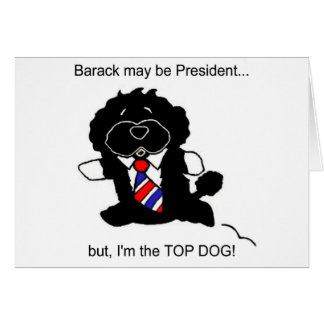 Bo is Top Dog Card (h)