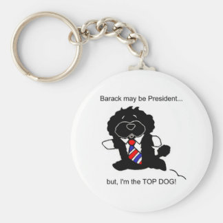 Bo is Top Dog Keychain