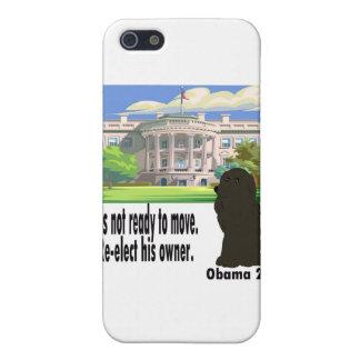 BO no se está moviendo reelige a su dueño Obama 20 iPhone 5 Cárcasa