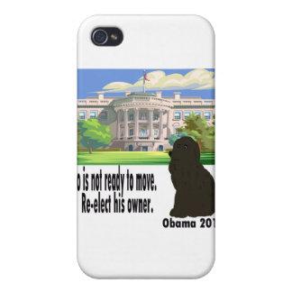 BO no se está moviendo reelige a su dueño Obama 20 iPhone 4/4S Fundas