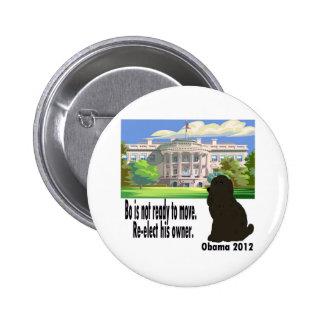 BO no se está moviendo reelige a su dueño Obama 20 Pins