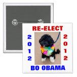 BO OBAMA 2012 PINS