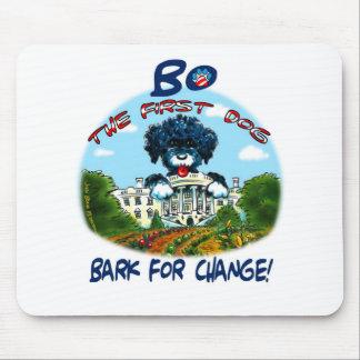 "Bo Obama ""Bark for Change!"" Mouse Mats"