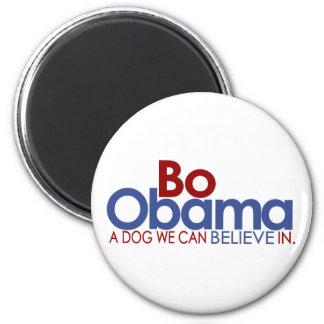 BO Obama el perro Imán Redondo 5 Cm