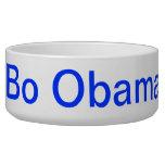 Bo Obama Pet Food Bowls