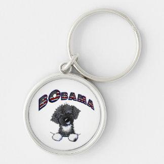 Bo Obama Portuguese Water Dog Keychain