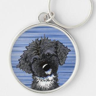 Bo Obama Portuguese Water Dog Keychains