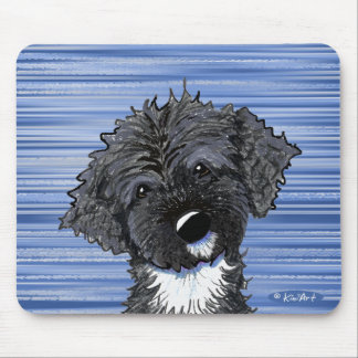 Bo Obama Portuguese Water Dog Mouse Pads