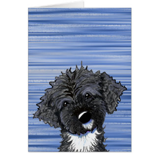 Bo Obama Portuguese Water Dog Stationery Note Card
