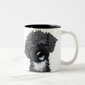 Bo Obama Portuguese Water Dog Two-Tone Coffee Mug