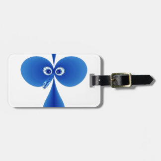 Bo-oby Bird Blue Tag For Luggage