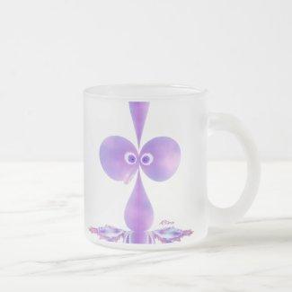 Bo-oby Bird Purple Mugs