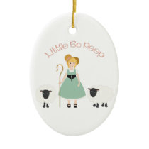 Bo Peep Ceramic Ornament