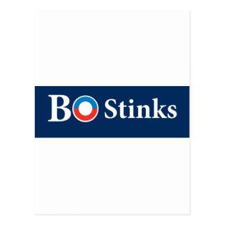 BO Stinks - Barack Obama Postcard