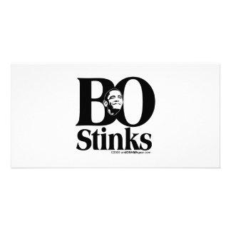 BO Stinks Personalized Photo Card
