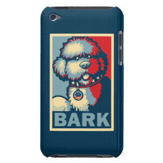 """Bo The Dog, Funny """"Obama HOPE"""" Case-Mate iPod Touch Case"""