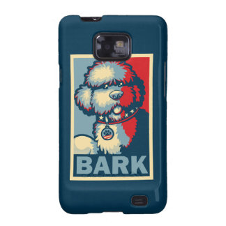 """Bo The Dog, Funny """"Obama HOPE"""" Samsung Galaxy S2 Cover"""