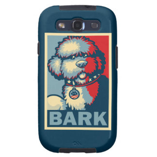 """Bo The Dog, Funny """"Obama HOPE"""" Samsung Galaxy S3 Covers"""