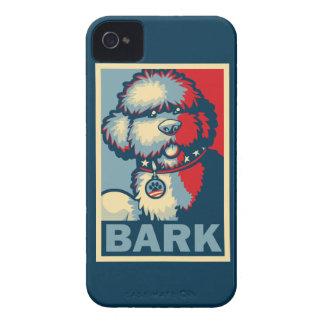 """Bo The Dog, Funny """"Obama HOPE"""" iPhone 4 Case"""