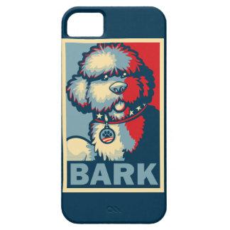 """Bo The Dog, Funny """"Obama HOPE"""" iPhone SE/5/5s Case"""